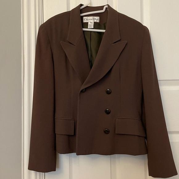 Authentic Christian Dior Suit Top Blazer Vintage